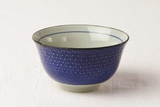 WB123 茶碗 青