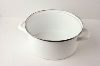 T05 土鍋(白×シルバーライン)