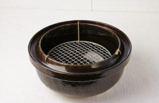 T60 燻製土鍋(茶)