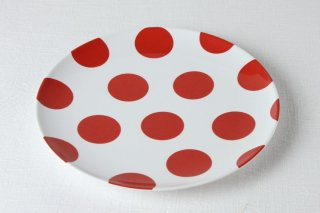 YP154 白・赤水玉・丸