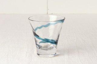 YD30 グラス 青ライン