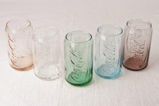 YD59 グラス・タンブラー・レトロ・透明・左から二番目