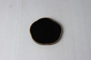 WT02 盆(黒・梅型)