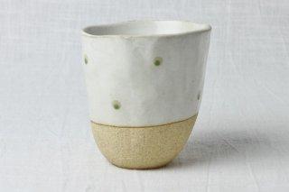 WD60 陶器  白×黄土色