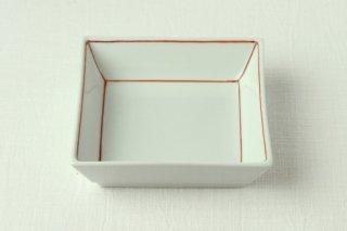 WP02 小皿・角・赤ライン