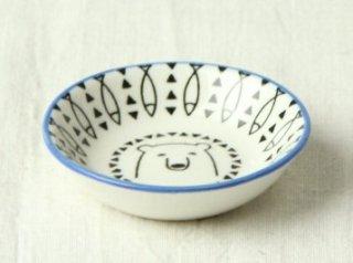 WP18 豆皿 白クマ