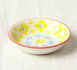 WP22 豆皿 フラワー(黄)