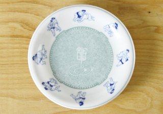 WP76 和皿・白×青・相撲