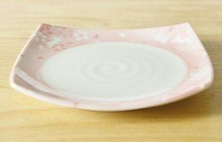 WP79 和皿・白×ピンク・花・兎