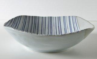 WP95 和皿・白×青ライン