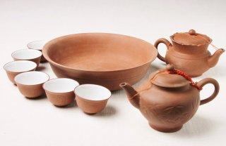 Z52 中国茶器セット 赤泥