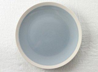YW06 洋風プレート 白 水色