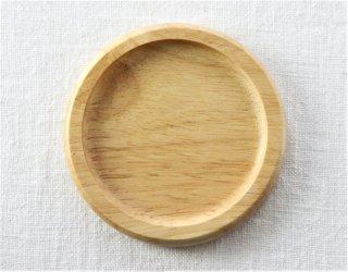 CO002 コースター/丸・木製