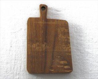 CO022 コースター/四角(ブラウン)・洋風・木製・取っ手つき