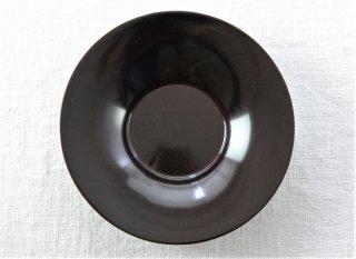 CO026 コースター/丸(黒)・和風