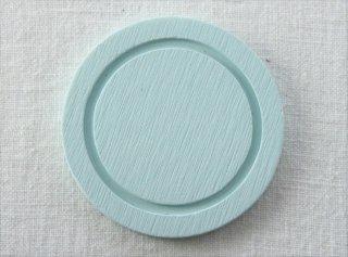 CO039 コースター/丸(水色)・洋風・木製