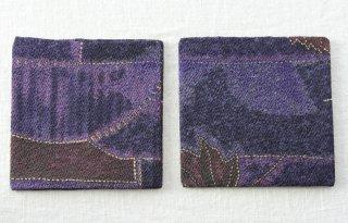 CO172 コースター/四角(紫)・和風(アジアン)・紅葉