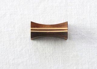 HO060 箸置き/四角(茶)・木製