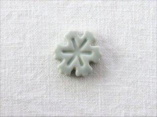 HO080 箸置き/雪の結晶・水色
