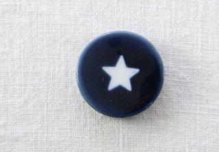 HO092 箸置き/丸(青)・星