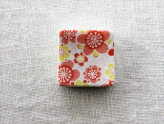 HO104 箸置き/四角(赤×白×黄)・桜