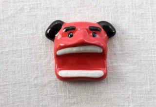 HO106 箸置き/獅子舞(赤)