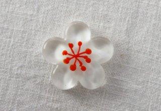 HO111 箸置き/梅・赤×白