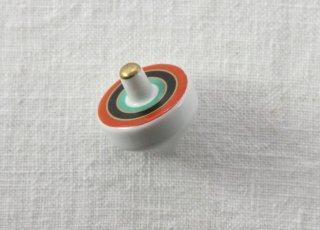 HO116 箸置き/コマ(赤×黒×緑)