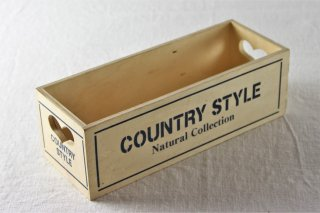 Z123 木製BOX(茶×青)