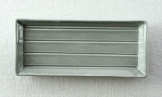 WP844 和皿/四角(グレー)・ライン