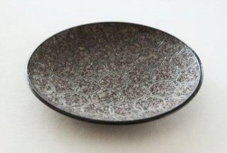 WP152 和風皿/丸(黒)