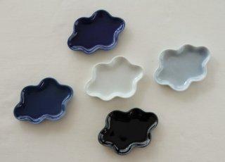WP194 和風皿/雲(青)
