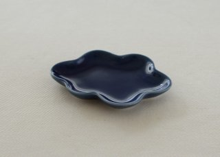 WP193 和風皿/雲(青)