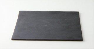 WP894 角皿/四角(黒)・丹波焼