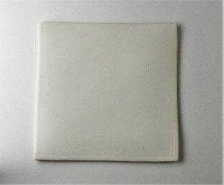 WP895 角皿/四角(白)・丹波焼