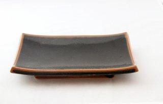 WP914 和皿/四角(黒)