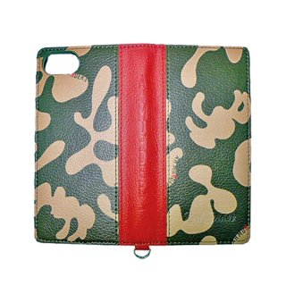 GIZMOBIES×RED SPIDER I PHONE CASE CAMO