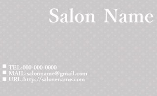 Business card(片面・横)