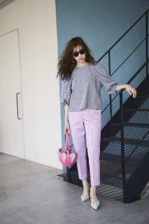 【6月頭配送予定】【予約】カラーパンツ【ピンク】