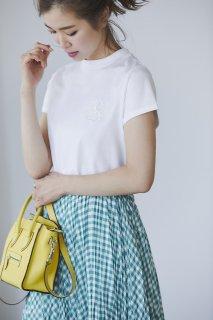 SVTロゴ刺繍Tシャツ(ホワイト)