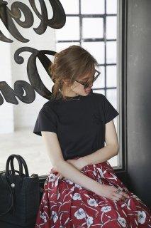 SVTロゴ刺繍Tシャツ(ブラック)