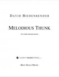 【吹奏楽 楽譜】<br>メロディアス・サンク <br>作曲:デヴィッド・ビーデンベンダー<br>