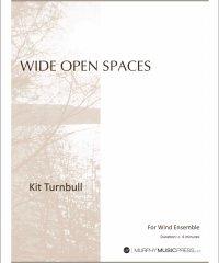 【吹奏楽 楽譜】<br>ワイド・オープン・スペース <br>作曲:キット・ターンブル<br>