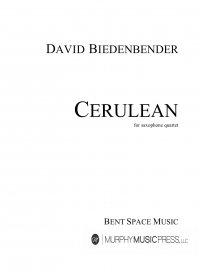 【サクソフォーン4重奏 楽譜】<br>セルリアン <br>作曲:デヴィッド・ビーデンベンダー<br>