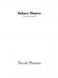 【吹奏楽 楽譜】<br>ソラス・ダンス <br>作曲:ニコル・パイウノ<br>