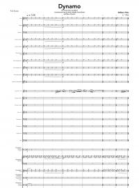 【吹奏楽 楽譜】<br>ダイナモ <br>作曲:ウィル・ピッツ<br>