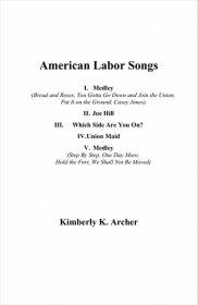 【吹奏楽 楽譜】<br>アメリカの労働者の歌 <br>作曲:キンバリー・アーチャー<br>