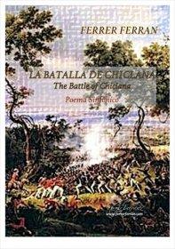 【吹奏楽 楽譜】<br>チクラーナの戦い <br>作曲:フェレール・フェラン<br>