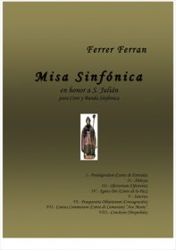 【吹奏楽 楽譜】<br>交響的ミサ <br>作曲:フェレール・フェラン<br>