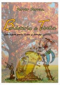 【吹奏楽 楽譜】<br>テューバ協奏曲「バンドスタリクス・アンド・テューベリクス」 <br>作曲:F.フェラン